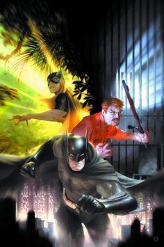 Batman Eternal Vol.1 #20 (Cover art by Alex Garner)