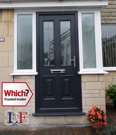 Image result for wood effect front door | doors | Pinterest | Solid ...