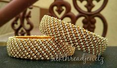 For reference only Silk Thread Bangles Design, Silk Bangles, Silk Thread Earrings, Thread Jewellery, Jewellery Designs, Diy Jewelry, Beaded Jewelry, Handmade Jewelry, Jewelery
