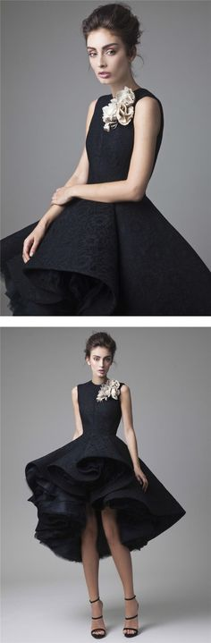 sleeveless jewel neckline ball gown black lace homecoming dress