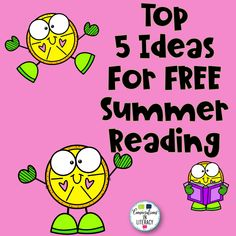 Our Top 5 Ideas for FREE Summer Reading will keep your elementary students reading and learning all summer long! They will especially enjoy #4!