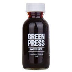 Coffee Snob - Elixir Shot at Green Press Juice. I greenpress.co