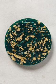 Gold Flecked Coaster