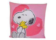 SNOOPY LOVE CUSCINO  Cuscino in tessuto con disegno di Snoopy