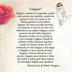 By Poetisa Loca & Edwin Vergara Love Quotes - Quotes Pin Amor Quotes, Bae Quotes, Love Phrases, Love Words, Spanish Quotes Love, Frases Love, Happy Love, Love Quotes For Him, Love Messages