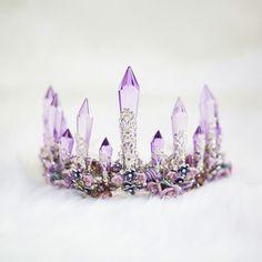 Baroque Amethyst Crown AWC0001  WC0001  -  32.00 - mystique.VPfashion.com. Bridal  CrownForest WeddingBaroqueAmethystBlingCrystalsPromJewelsCosplay Hair 2a57c0f1f258