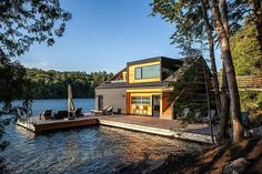 Designed by Toronto-based Altius Architecture, this upstate New York residence…