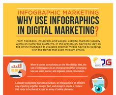 Why Use #Infographics in #DigitalMarketing  #Facebook, #Twitter, #pinterest, #Instagram,