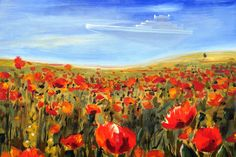 Poppies and cruiser