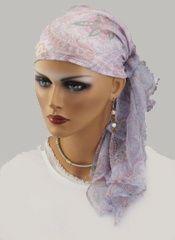 #Beaubeau #headscarf in a feminine paisley in #pastel colors $59.99