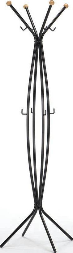 Remus Black Metal Coat Rack