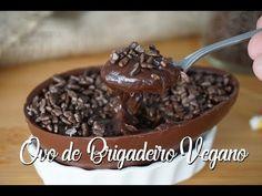 OVO DE COLHER VEGANO DE BRIGADEIRO (com leite condensado caseiro)