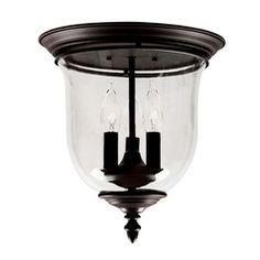 Livex Lighting Legacy Bronze Flushmount Light