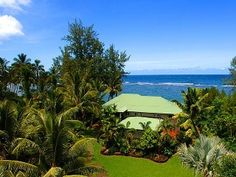 Direct Beachfront Kauai North Shore All Welcome endless sandy beach