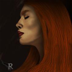 Woman In Dark by NeverendingMystery.deviantart.com on @DeviantArt