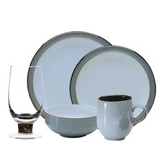 Denby USA -  Jet Grey 20 pc Bundle