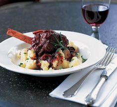 FABULOUS braised lamb shank recipe. To die for!