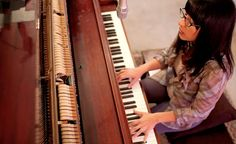 """""""It wasn't that long ago when she discovered the music wasn't in the piano . . .  it was in her, all the time."""""""
