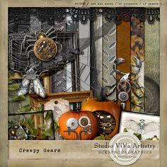 Creepy Gears by Viva Artistry
