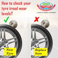 Tyre is the only part of the vehicle that grips the road, the depth of tread on your tyres is a very important for the safety of your vehicle. It also signals the health of the tyre. #tyres #Ahmedabad #TyreTreadWear #BuyNewTyres #TyreBrands