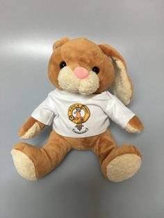 Soft toy rabbit with
