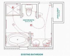 lavatory plan