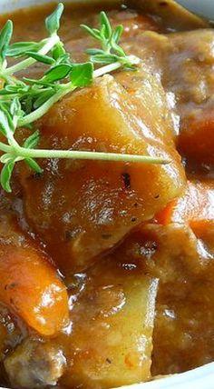 Crockpot Venison Stew