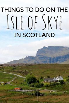 Is the Isle of Skye in Scotland on your bucket list? It's on mine! Check out…