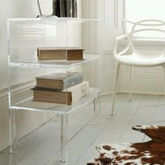 Kartell Ghost Buster by Philippe Starck - dream furniture piece & the Ghost Chair too. Lucite Furniture, Acrylic Furniture, Table Furniture, Furniture Design, Dream Furniture, Acrylic Nightstand, Plywood Furniture, Furniture Stores, Chair Design