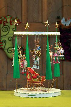 Patience Brewster - Mini Dashing Away Reindeer Set - Wooden Duck Shop