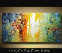 contemporary wall art Modern Textured by xiangwuchen on Etsy