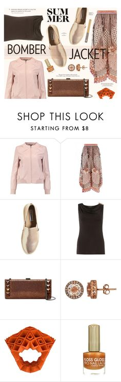 """""""Light Topping: Summer Bomber Jackets"""" by katarina-blagojevic ❤ liked on Polyvore featuring Halston Heritage, Temperley London, Steve Madden, Dorothy Perkins, Whiting & Davis, Lord & Taylor, VOJD Studios, Urban Decay and bomberjackets"""