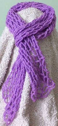 Summer scarf in purple by FmDigitalDesign