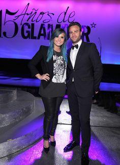 Los momentos más hot de la fiesta de Glamour 15 años. ¡Imperdibles! Demi Lovato y Max Villegas