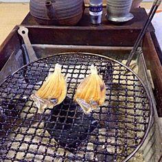 火鉢でホット・ウヰスキーを頂いております。丁子を入れるとお湯割りの香りも格別なんですよ‼︎ (▰˘◡˘▰)☝︎ - 68件のもぐもぐ - 夕方ピクニック♬ by giacometti1901