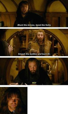 Uncle Thorin isn't much into singing, I wager :P At least, not this kind of singing.