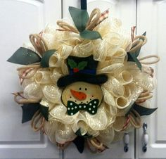 Cute Snowman wreath