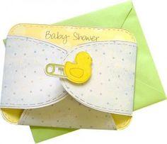 Diaper invites-cute as a little ducky! :)