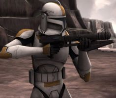 Waxer is a clone trooper who served in Ghost Company, a unit of the Grand Army of the Republic's 212th Attack Battalion. During the Clone Wars.