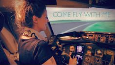 Come fly with me - Me flying in a flight simulator. OMG!. I always wanted to fly a plane. I mean, who doesn't?? And this one time I had the ...
