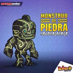 Monstruo de Piedra. #monster #stonemonster #inkamadness #videojuego #juego #apps #App #itunes #ios #ipad #wp #peru #games #game