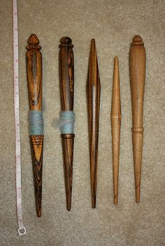 Antique French Spindle Replicas, via Flickr.