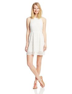 This white dress would look great at a beach party or some other casual event. Get the look at www.whitepartydressonline.com!
