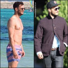 The difference a week makes. Back 2 British weather! A crisp & sunny day in London. No rain, bonus  #JamieDornan