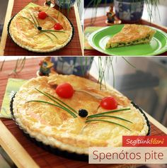 Spenótos pite Ethnic Recipes, Food, Essen, Yemek, Meals