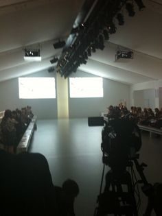 My day at London Fashion Week - the catwalk