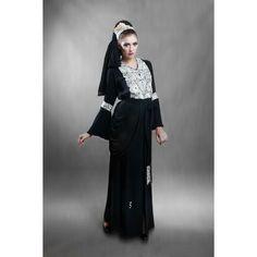 Designer Inspired Abaya 123 - Boutique Al-Khaleejia via Polyvore