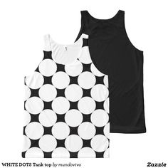 WHITE DOTS Tank top All-Over Print Tank Top