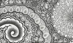 Zentangle Card 1 by TheLonelyMaiden