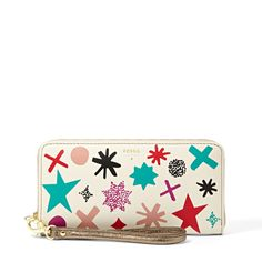 Fossil Giftable Zip Clutch SL4428 | FOSSIL®